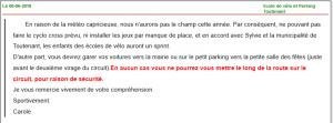 info parking toutenant