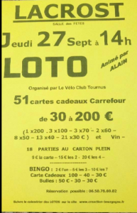 affiche loto 27 sept