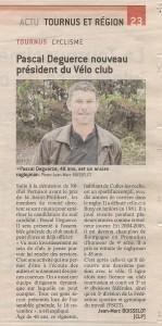 Pascal Degueurce Président jsl 17 oct 2018