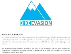 logo bike evasion